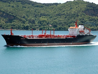Semi-refrigerated 10,004 dwt LPG carrier