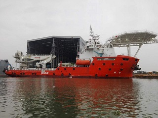 DP2 Subsea Support Vessel