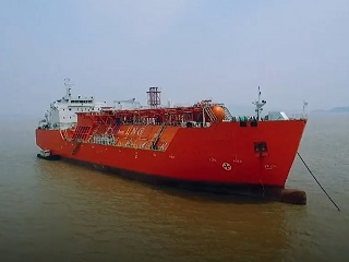 Mid size LNG carrier