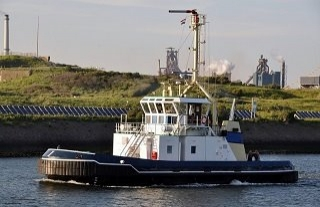 Tractor type Tug boat