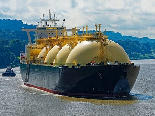 Very large LNG carrier 133,000 cbm
